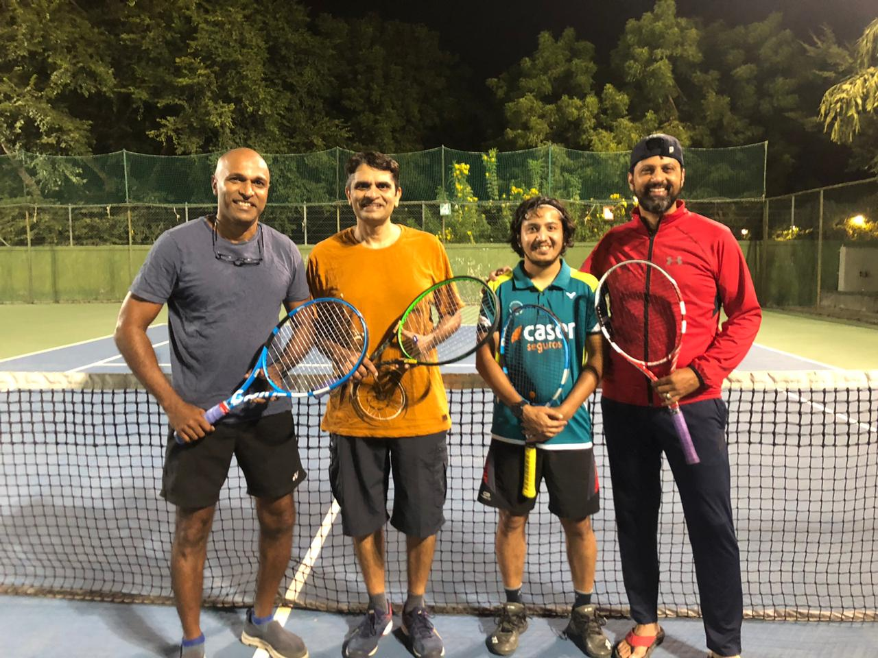 Racketlon Practice in Ahmedabad