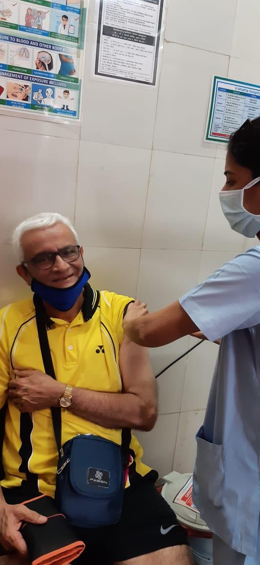 RISA chairman Vaccinated